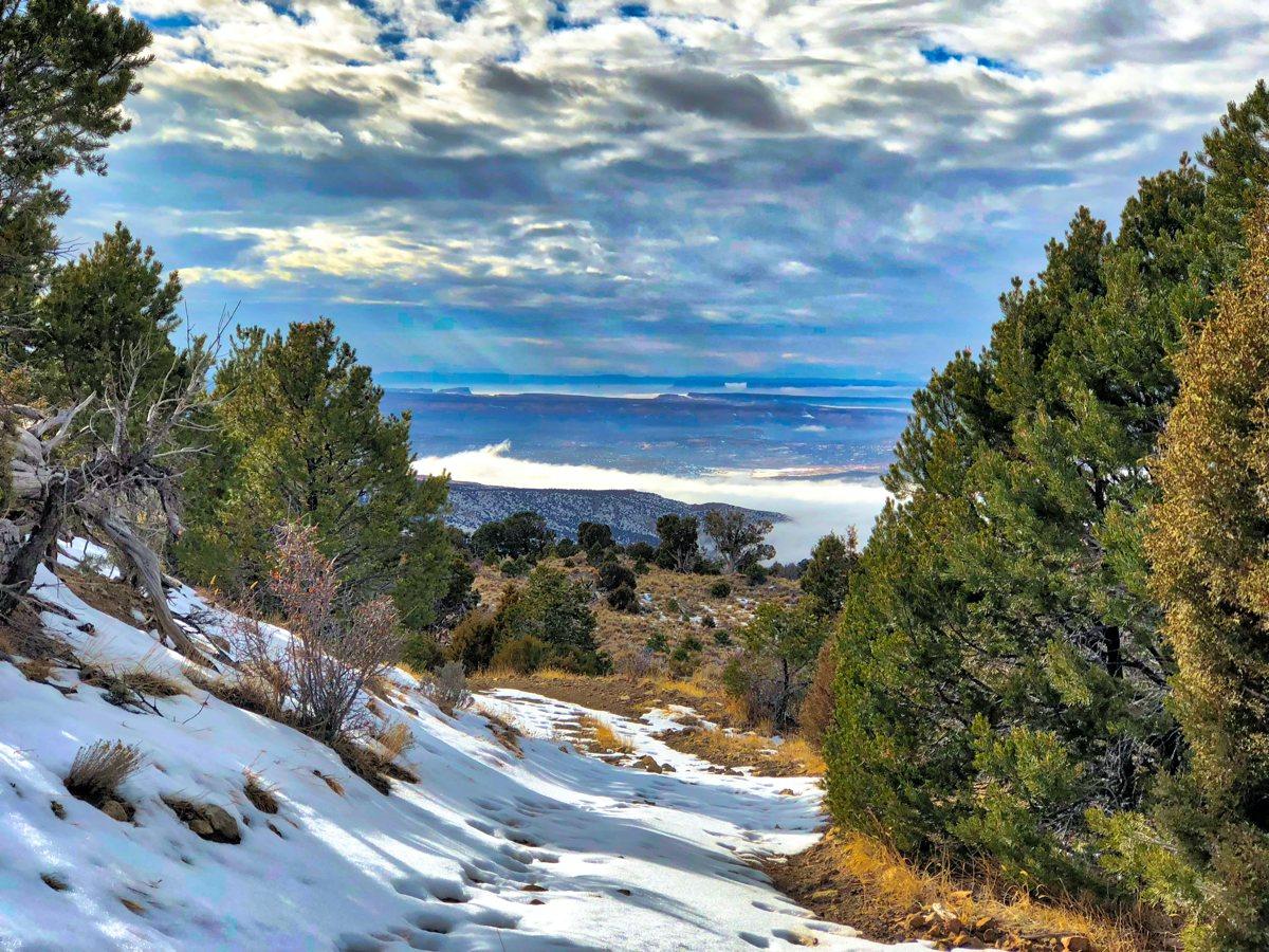 Sierra La Sal toward Canyonlands