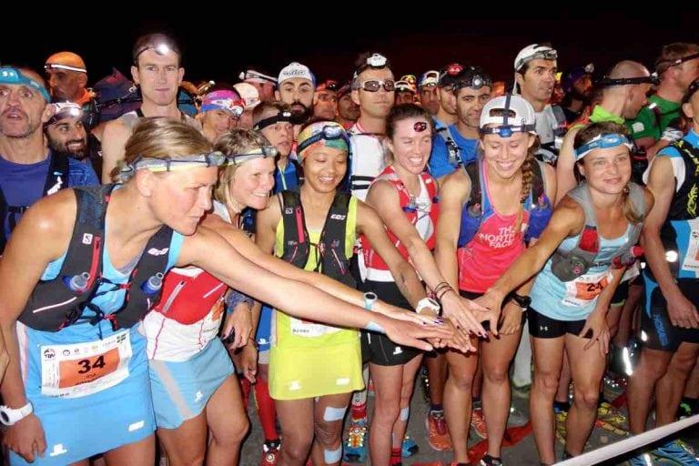 2016 Transvulcania Ultramarathon starting line women
