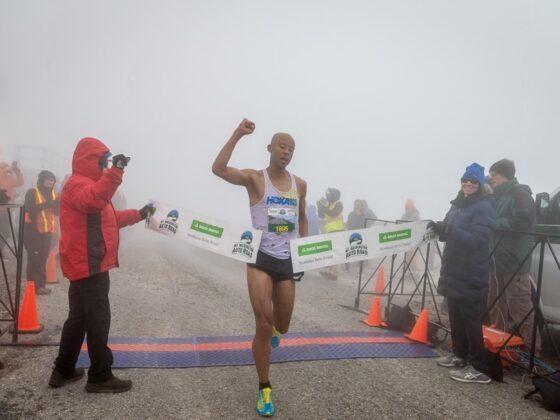 Joe Gray - 2021 Mount Washington Road Race champion