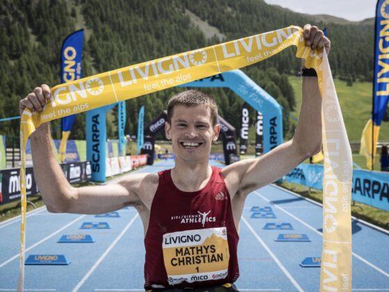 Christian Mathys - 2021 Livigno Skymarathon champion