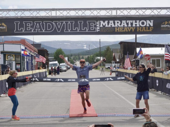 Noah Williams - 2021 Leadville Trail Marathon champion