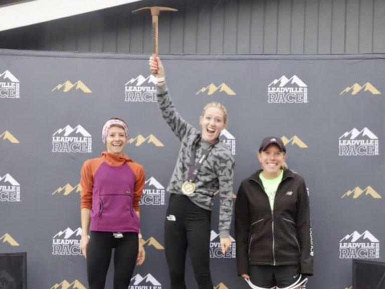2021 Leadville Trail Marathon womens podium