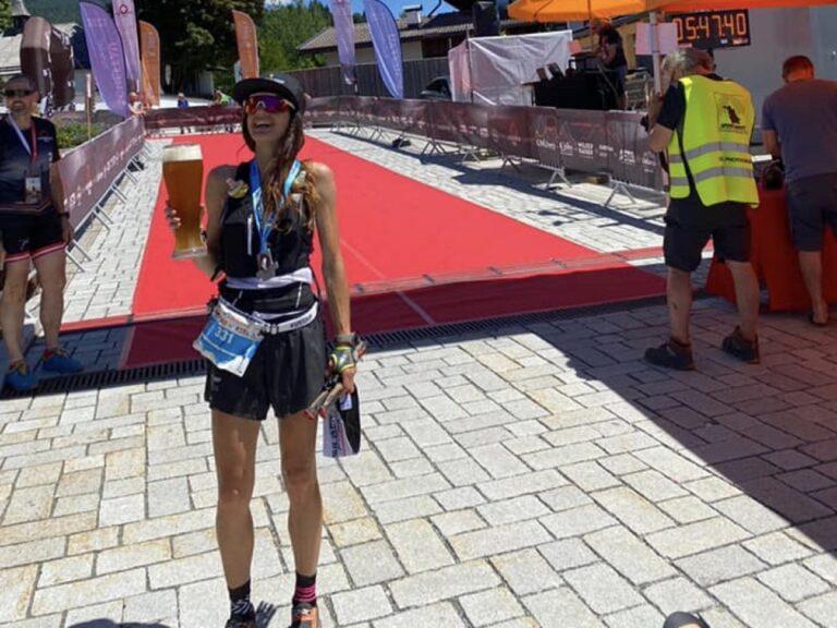 Stephanie Kroll - 2021 Kaiserkrone Skyrace champion