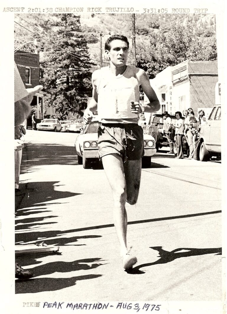 IRF 5-- Running_ Rick Trujillo, Approaching the 1975 PPM Finish Line_ 3Aug1975