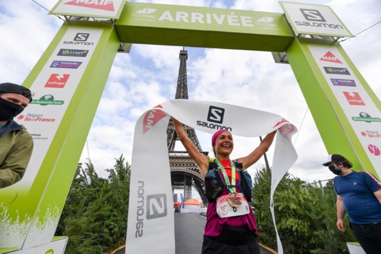 Sylvaine Cussot - 2021 EcoTrail Paris champion