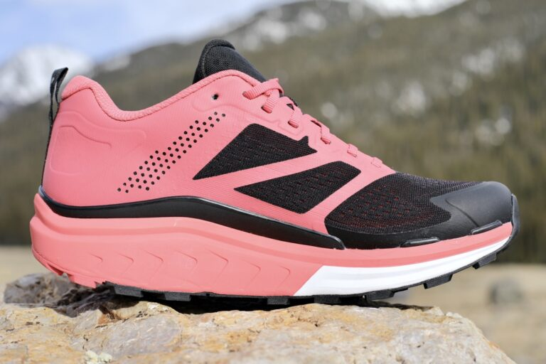 The medial view of the North Face Vectiv Enduris.
