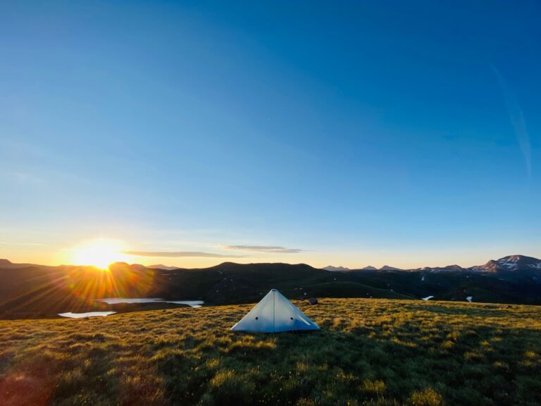 Hannah Green - San Juan Mountains camping