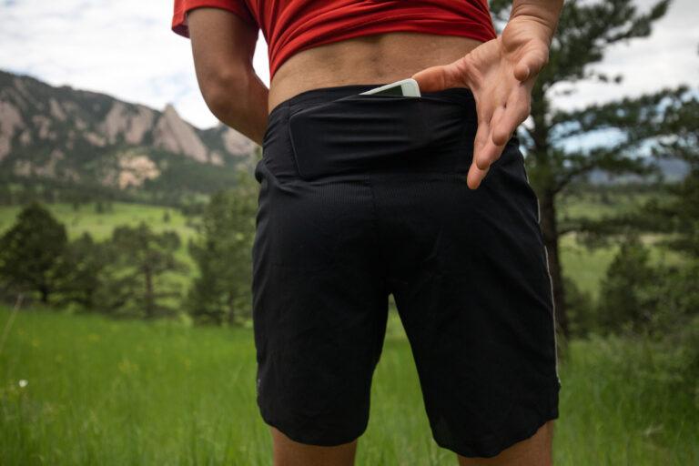 ON Running Lightweight Shorts Back