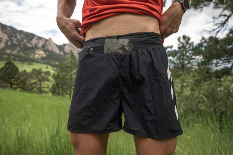 Adidas Terrex Agravic Pro Trail Running Shorts Front