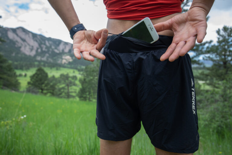 Adidas Terrex Agravic Pro Trail Running Shorts Back
