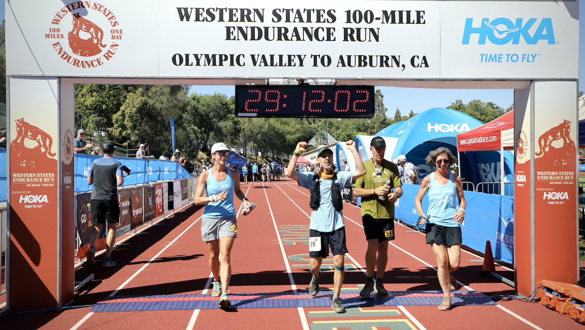Mike Acer Western States with pacer