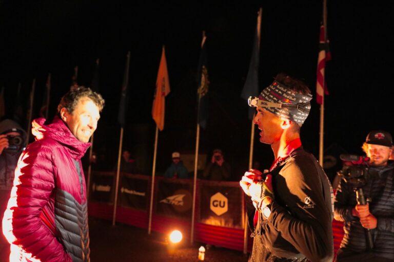 François D'haene - Dylan Bowman - 2021 Hardrock 100 finish