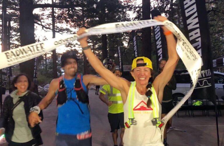 Sally McRae - 2021 Badwater 135 champion