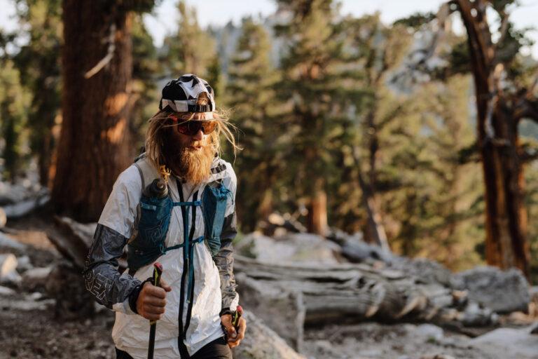Timothy Olson on the Pacific Crest Trail. Photo: Keith Ladzinski / adidas Terrex