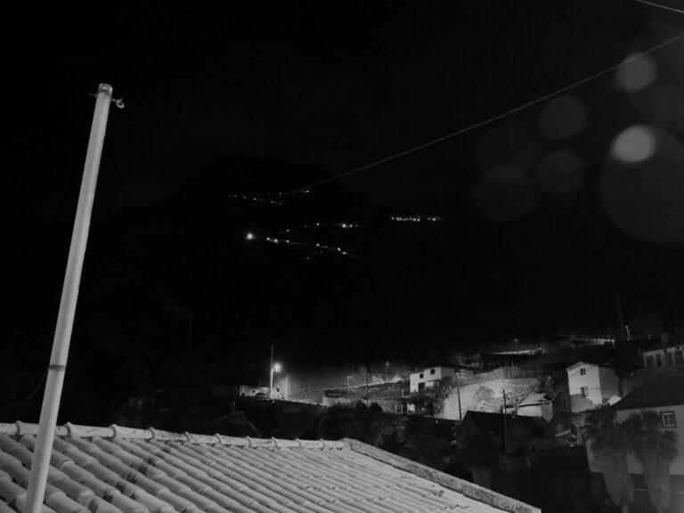 2019 Madeira Island Ultra Trail - night running scenery