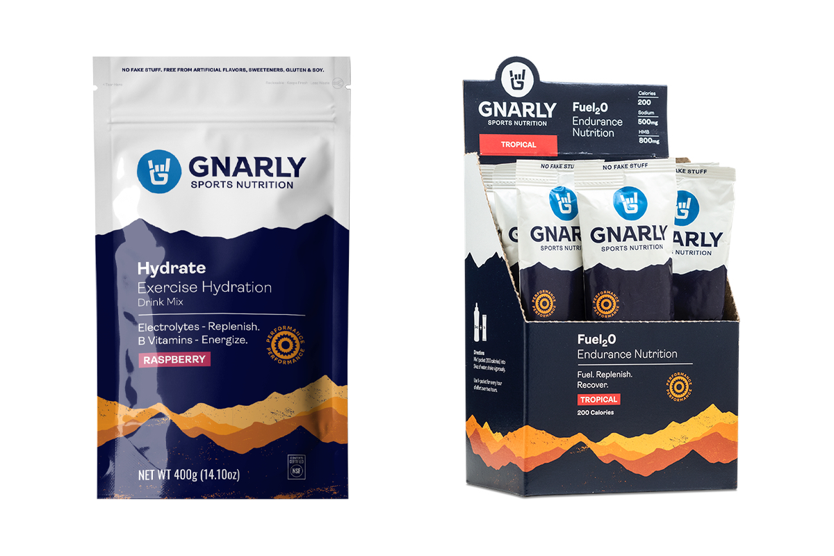 Gnarly Nutrition - Hydrate and Fuel2O
