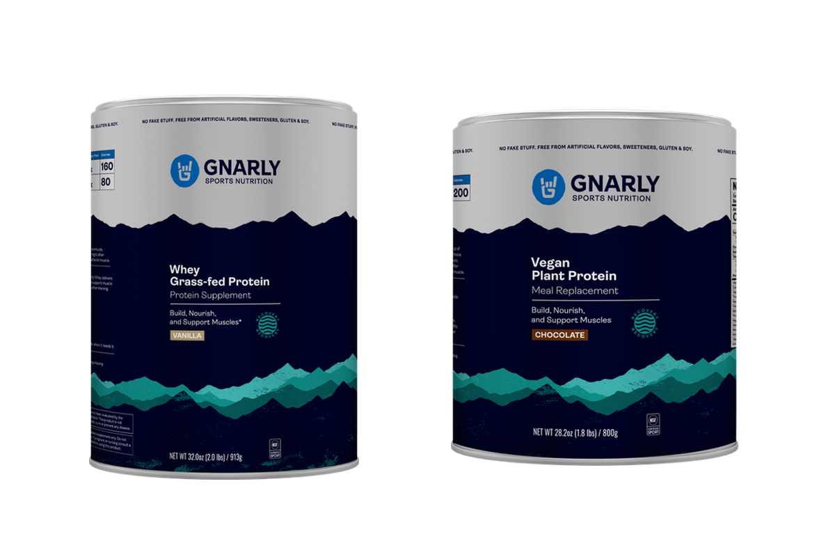 Gnarly Nutition - Whey and Vegan Protein