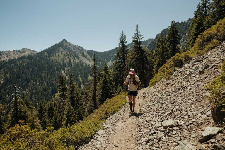 Timothy Olson on the Pacific Crest Trail.