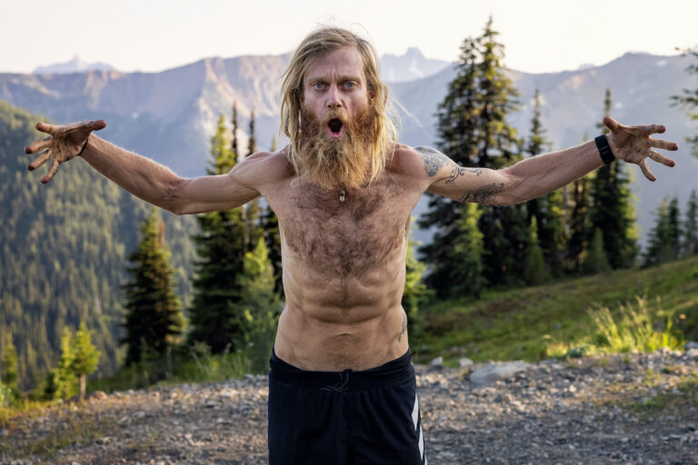 Timothy Olson on the Pacific Crest Trail