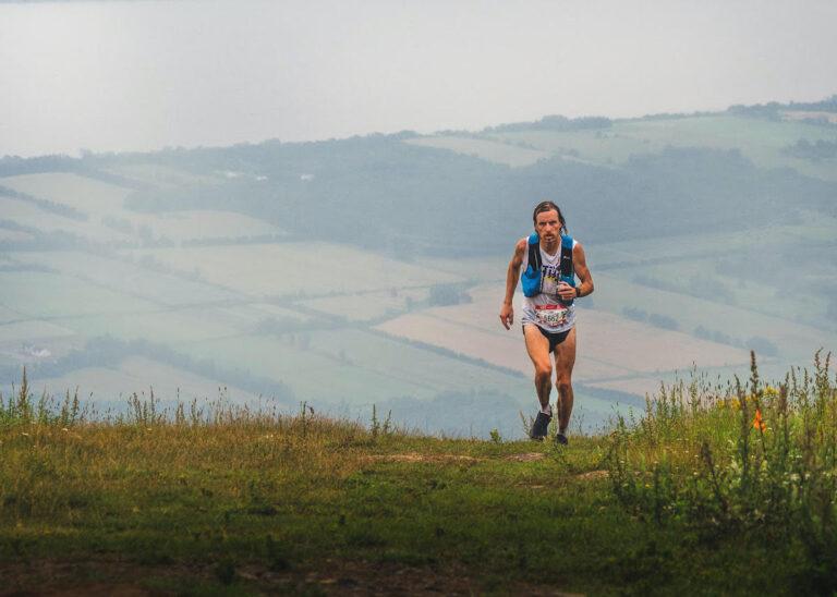 Dany Racine, winner of Quebec Mega Trail, This week in running