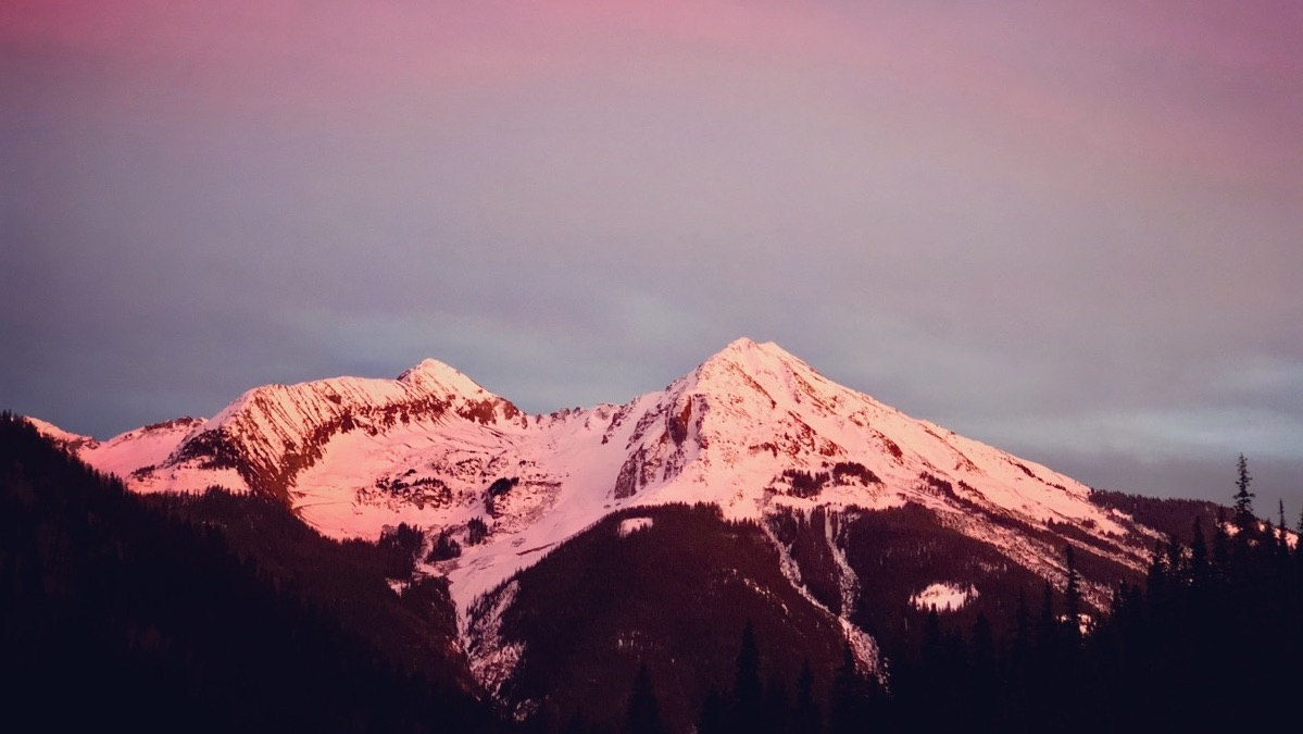 San Juan Mountain sunset - haiku