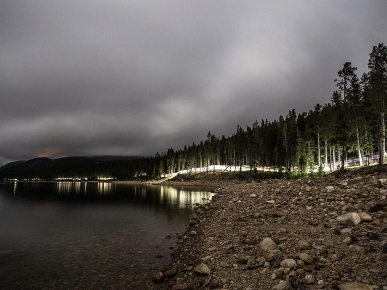 2021 Leadville Trail 100 Mile - headlamps in the dark