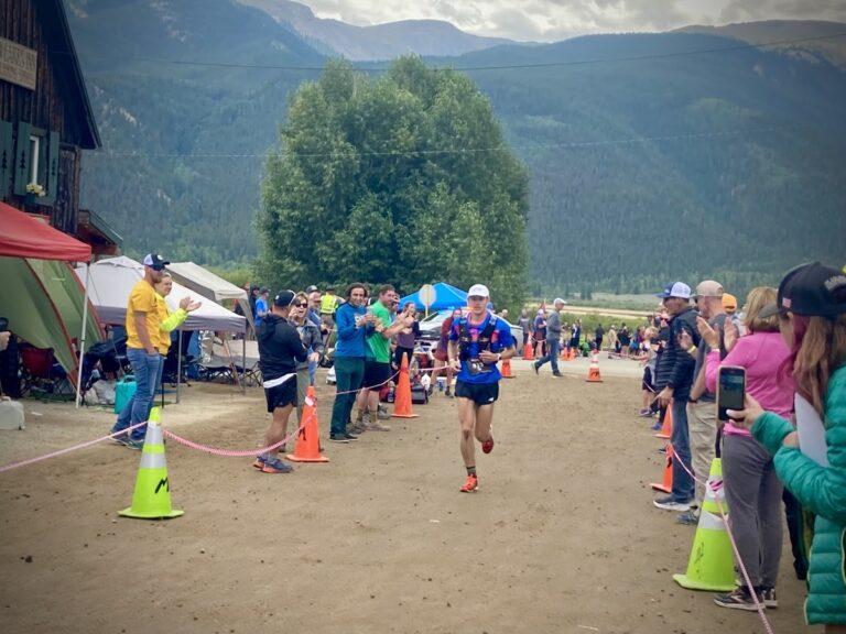 Adrian Macdonald - 2021 Leadville Trail 100 Mile mens champion