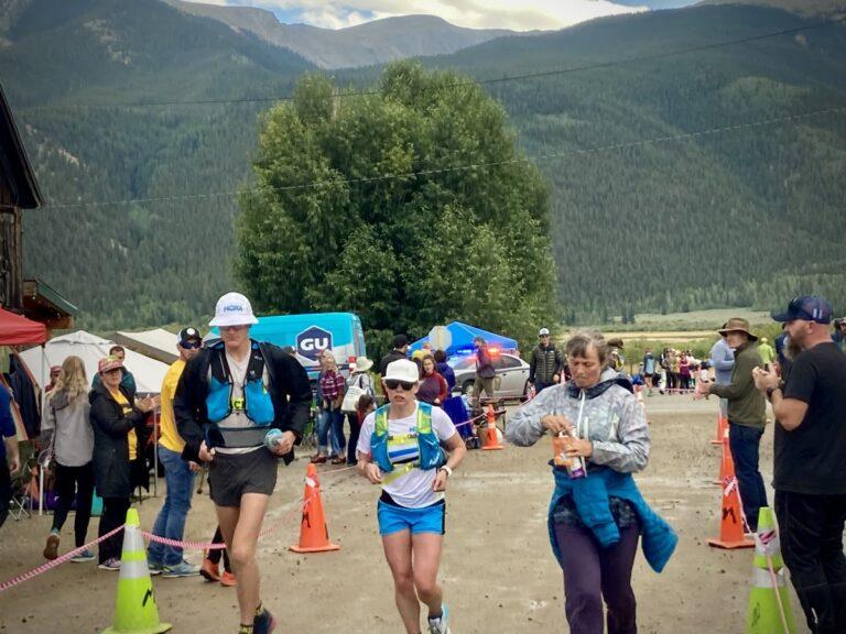 Annie Hughes - 2021 Leadville Trail 100 Mile womens champion