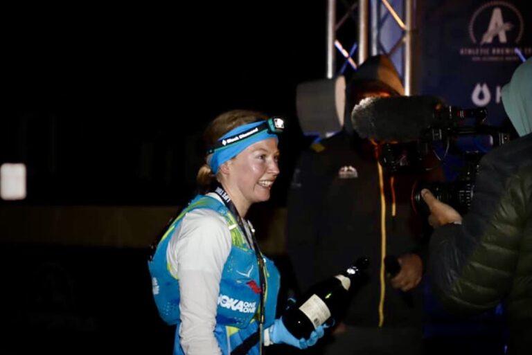 Annie Hughes - 2021 Leadville Trail 100 Mile womens champion 2
