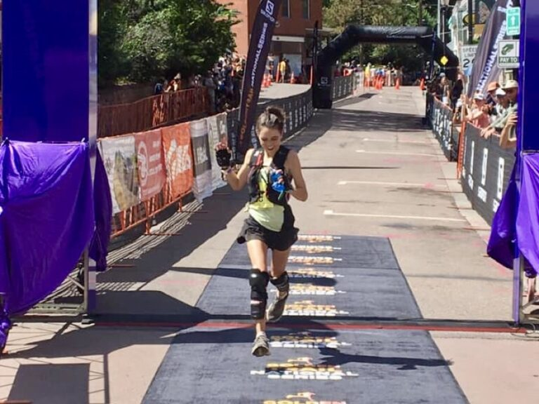 Allie McLaughlin -2021 Pikes Peak Ascent champion