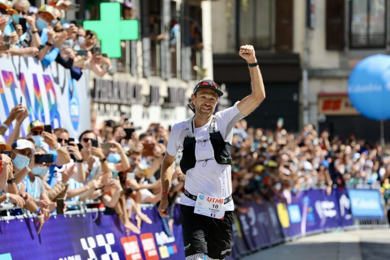 2021 UTMB champion - Francois Dhaene