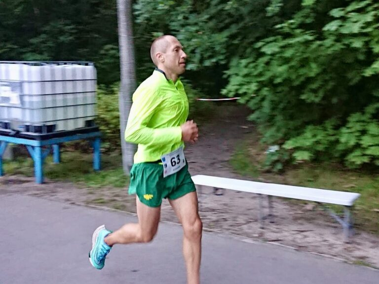Aleksandr Sorokin - 2021 UltraPark Weekend 24 Hour - 24 hour world record