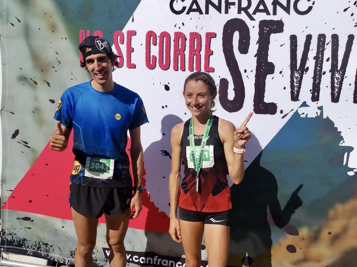 Antonio Martinez and Grayson Murphy - 2021 Canfranc 16k champions