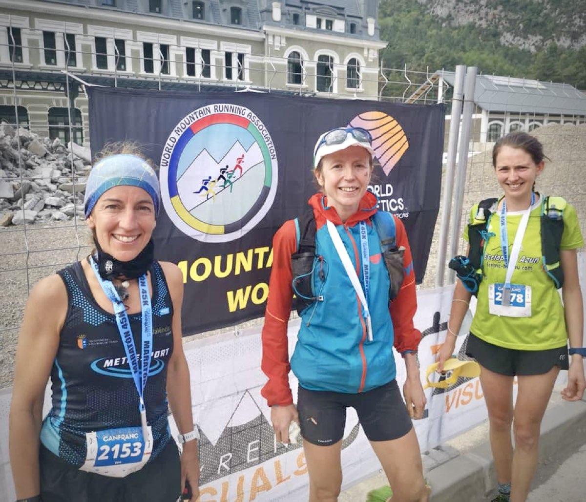 2021 Canfranc 45k womens podium