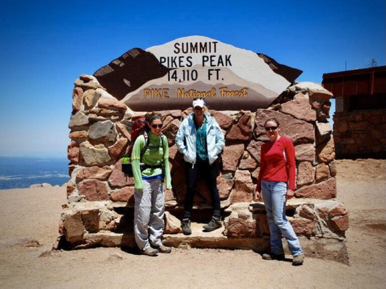 Whiley Hall on the summit of Pikes Peak in 2010