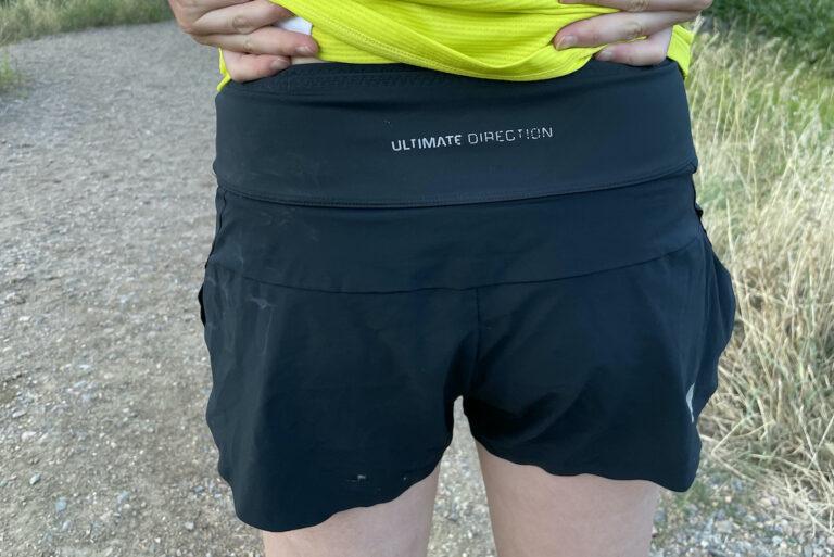 Ultimate Direction Velum Short - Back View