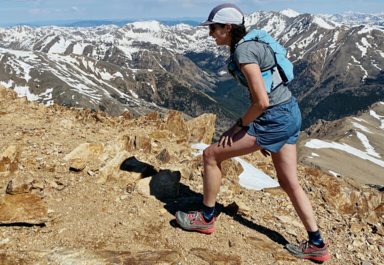 Abby Levene Black Diamond Sprint Shorts Mountains