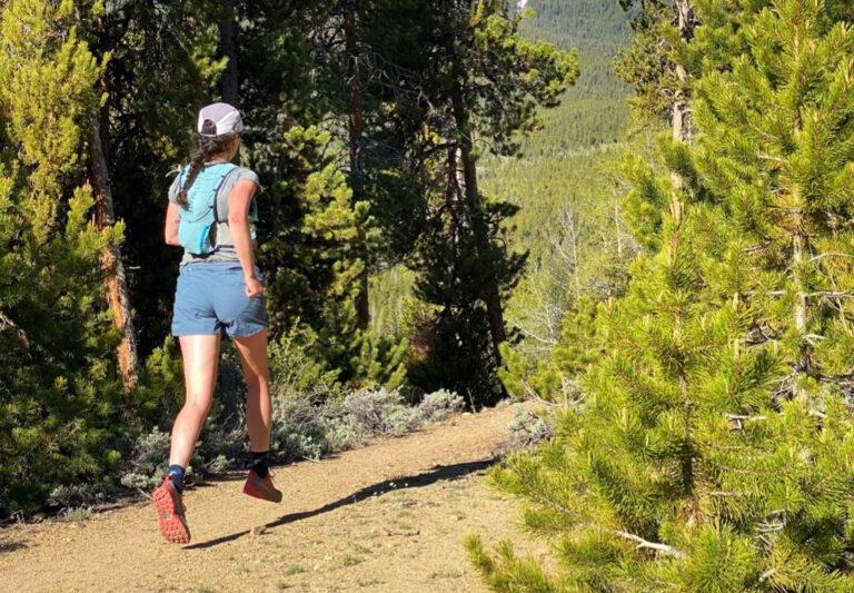 Abby Levene - Black Diamond Sprint Shorts - In Trees