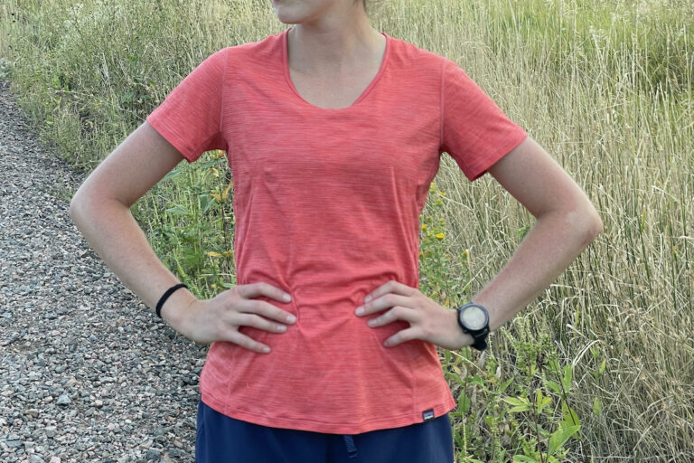 Patagonia Capilene Cool Lightweight Tee - Front View