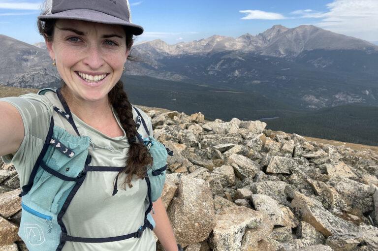 Abby Levene - Decathalon Quechua MH100 Short Sleeved Hiking TShirt - Scrambling