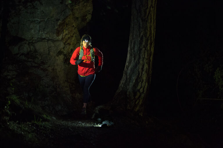 NAO ultra trail running Clare Gallagher headlamps