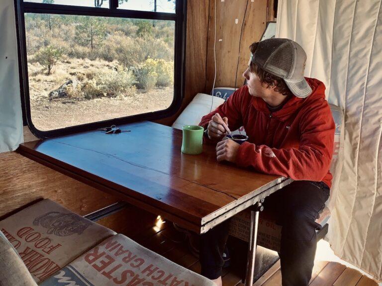 Zach Miller Finding Words Bus