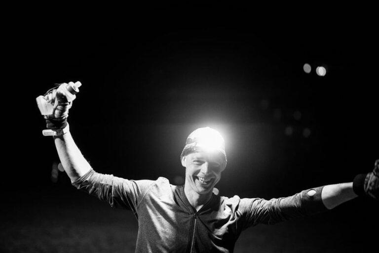Dave Stevens - Run Rabbit Run 100 Male Champion