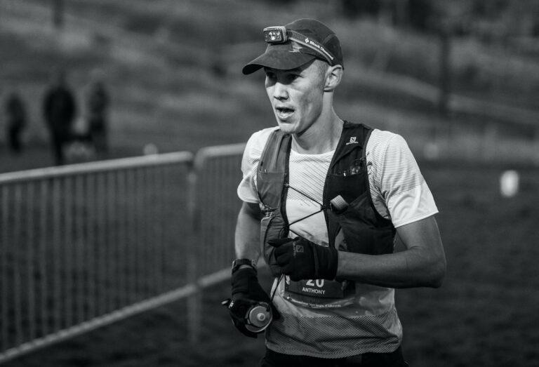 Run Rabbit Run Anthony Costales Second Place - Paul Nelson Trail Junkie Photos