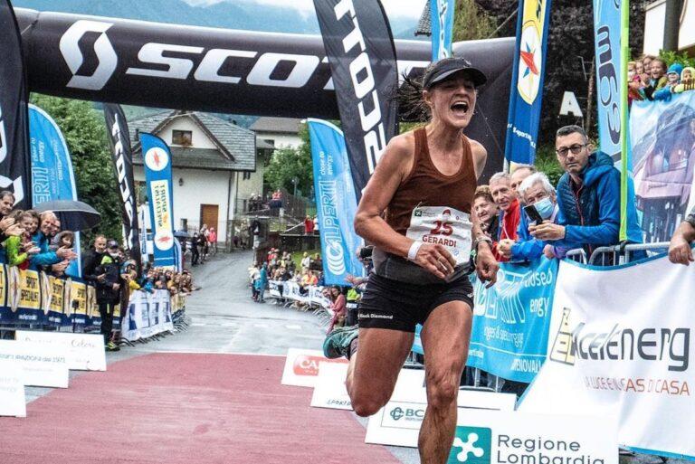 Hillary Gerardi Skyrunning World Series Grigne Sky Marathon