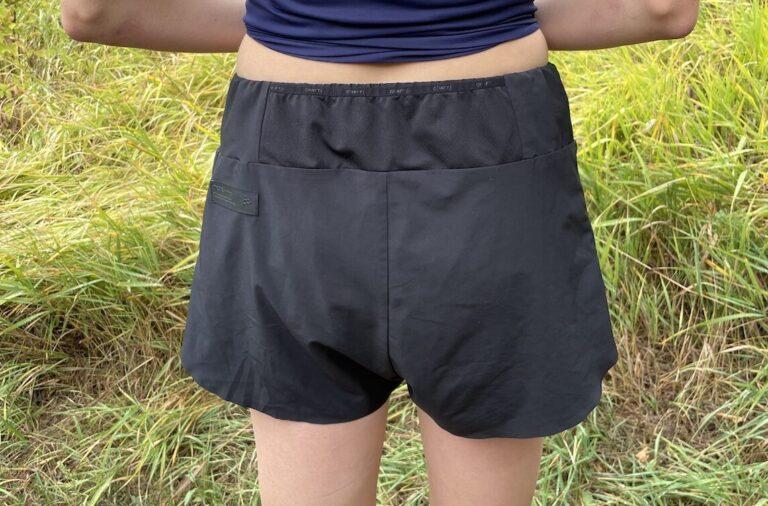 Best Women's Running Shorts - Craft Pro Hypervent Running Split Shorts Back