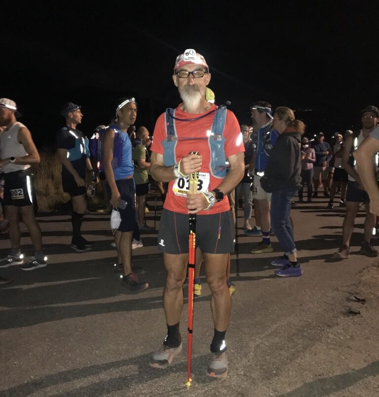 Age Old Runners - Anatoly Ross - 2021 Wasatch 100 Start