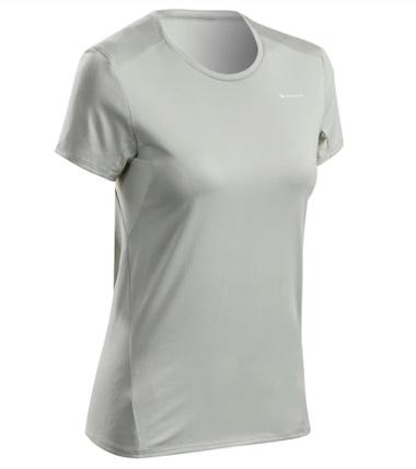 Best Women's Running Shorts - Decathlon Quechua MH100 Short Sleeved Hiking Shirt - Product