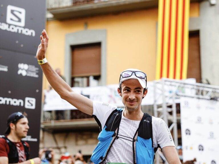 Kilian Jornet - 2021 Ultra Pirineu 100k champion