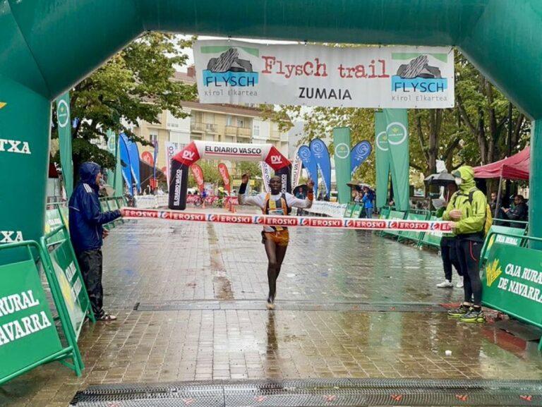 Geoffrey Ndungu - 2021 Zumaia Flysch Trail 22k champion